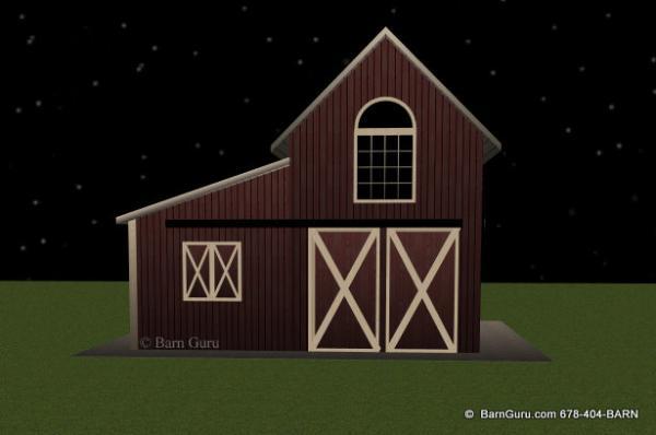 2 stall horse barn 2 stall horse barn