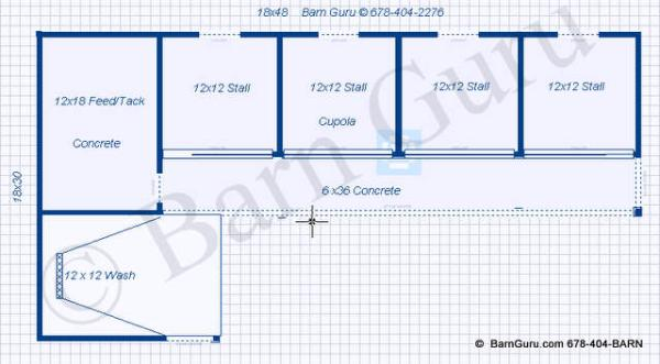 Shed plans with material list plans for shed row barn diy