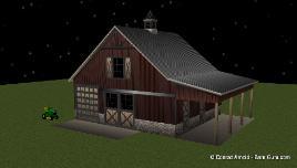 Horse Barn Plans Design Floor Plan Buy Barn Blueprints For
