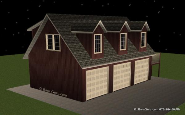 Download Free Garage Plans With Living Quarters Plans Free