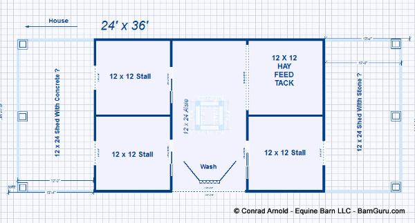 6 stall horse barn floor plans for 10 stall horse barn floor plans
