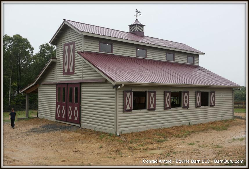 5 Stall Horse Barn