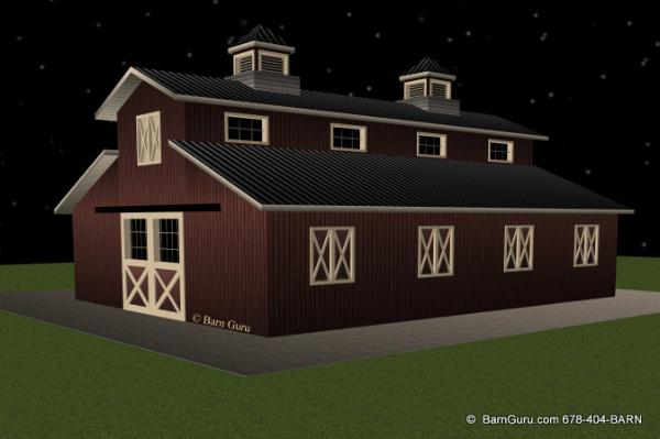 Monitor Style Barn Plans Home Design
