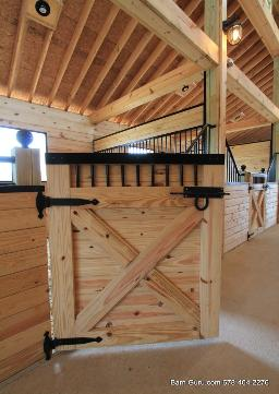 Barn Plans 10 Stall Horse Design Floor Plan