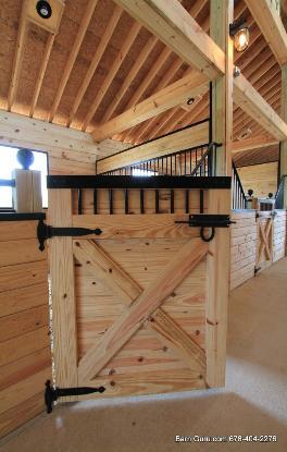 Barn Stall Door Plans Lk Mickhael