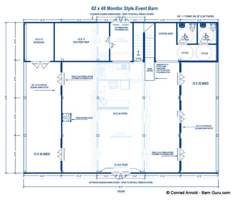 Event Barn Plans
