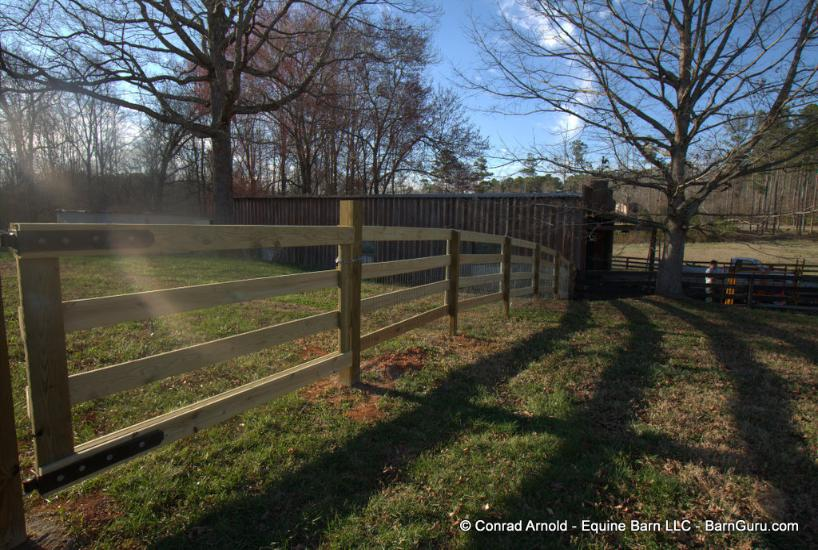 Cross Buck Fence
