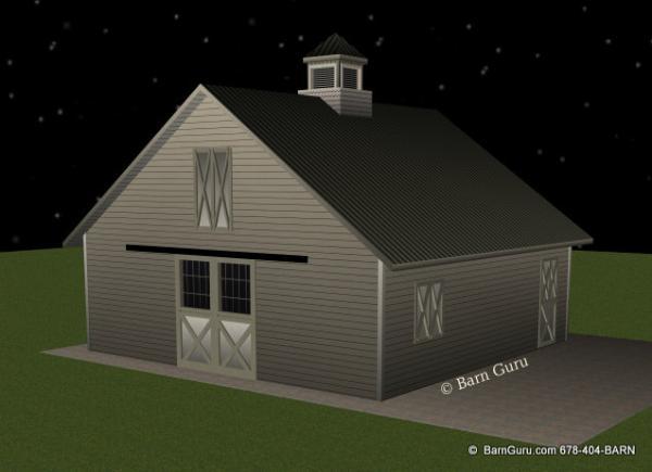 Barn Plans 4 Stall Horse Barn Plans Design Floor Plan