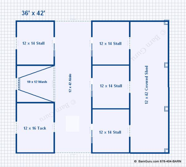 Barn floor plans joy studio design gallery best design for Best horse barn plans