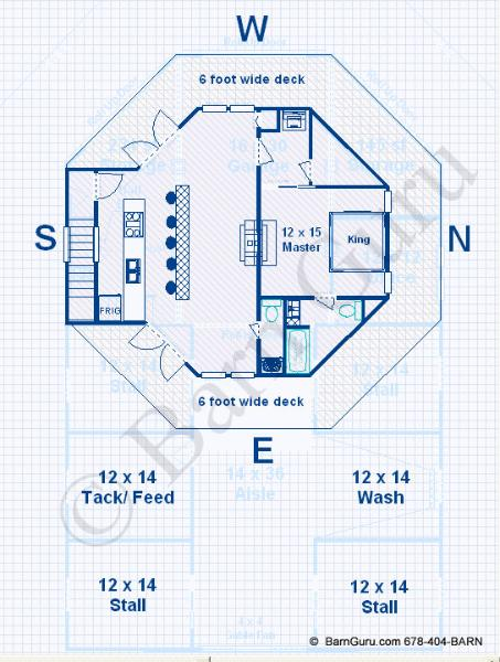 kelana barn plans living quarters floor plans details