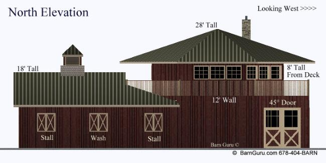 Shedaria here horse barn plans with living quarters for Horse barn apartment plans