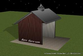 Run - In Horse Sheds - Conrad Arnold - Barn Guru - North Ga
