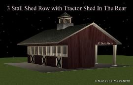 Barn Plans Shed Row Barn Breeze Way Barn Design Floor Plan