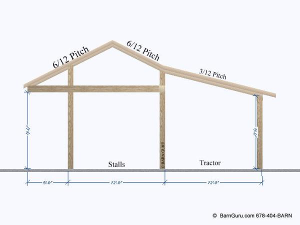 Shedme: Plans for a shed row barn